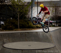 Skateboarders and BMX Riders-1
