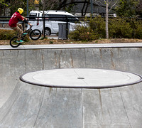Skateboarders and BMX Riders-7