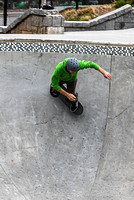 Skateboarders and BMX Riders-6