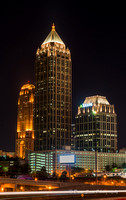 Atlanta Skyline - 14th Street Bridge - 2